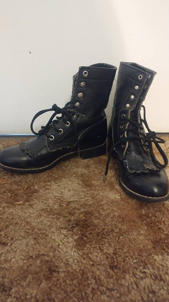 Vintage 90's granny boots size 6