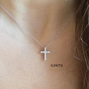 10 Pieces  C3018S-010 Matte Original Rhodium  Plated Cross Brass Pendant