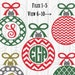 Tiffanie Prather reviewed Christmas Monogram SVG File Set of 10 ornament cut files includes svg/png/jpg formats! Commercial use ok! ornament monogram christmas svg