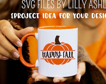 Pumpkin SVG Cut File Downloadable in svg/jpg/jpg formats for fall svg happy fall svg autumn svg harvest