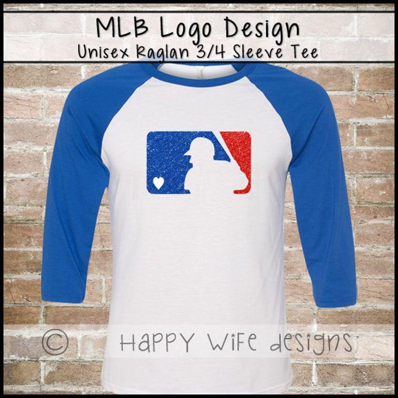 55ebb4a65 Baseball Mom Shirt Baseball Jersey Glitter Rhinestone | Etsy