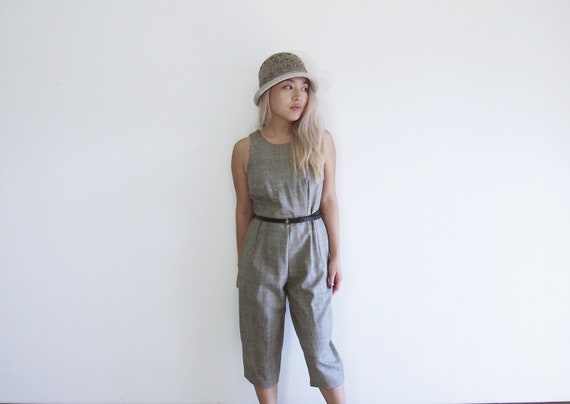 085ea471c3cd Minimalist wool business romper   jumpsuit   pantsuit   capris
