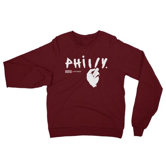 Peace in Philly Fleece Raglan Sweatshirt