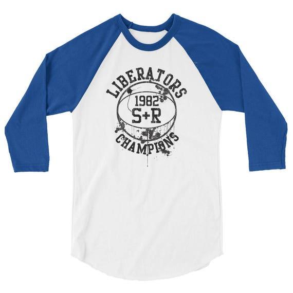 We are the Liberators 3/4 sleeve raglan shirt