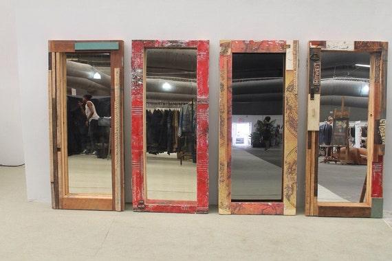 BSR patchwork floor mirror
