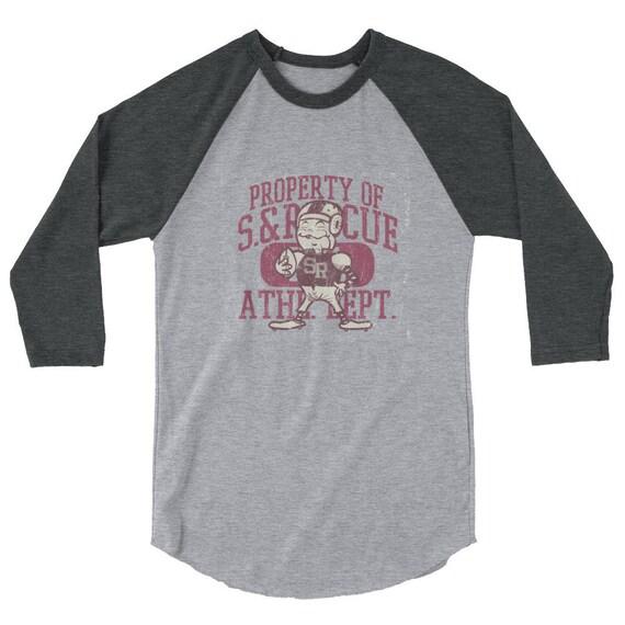 Captain of the Squad 3/4 sleeve raglan shirt