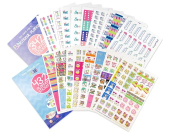 Sticker Sets for Planners | Pick TWO | Choose from 4 collections | Fits any planner and calendar | Up to 1288 stickers | 100s of events