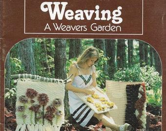 Weaving A Weavers Garden • 1970s Flatloom Easy Beginner Weaving Book • Wall Hanging Art Tapestry Pattern Books • 70s Vintage PDF Ebook