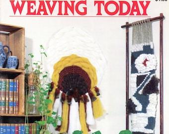 Weaving Today • 1970s Off Loom Weaver Book Weave • Boho Handbag Bag Instruction Pattern Books • 70s Vintage Knotwork • Digital PDF Ebook