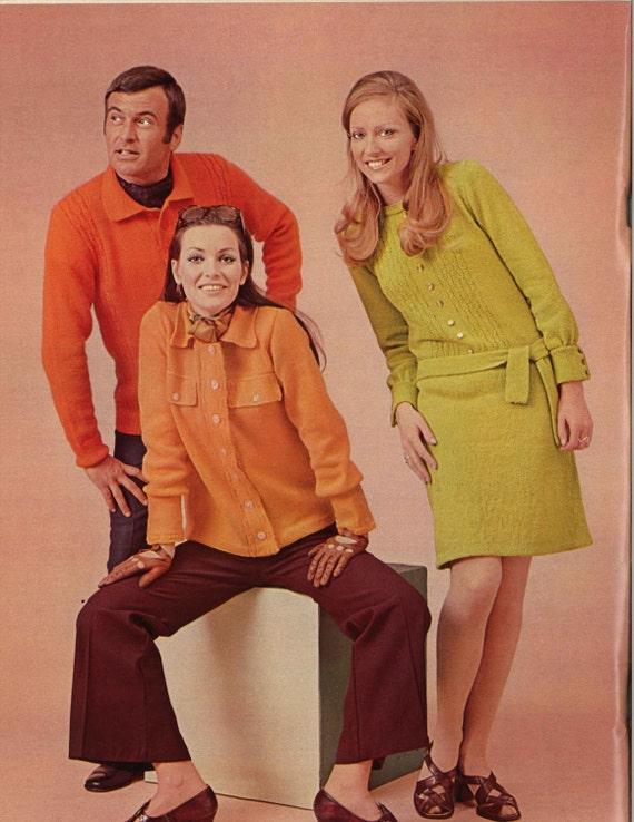 Button Down Buddies 1960s Sweater Dress Buttondown Top Etsy
