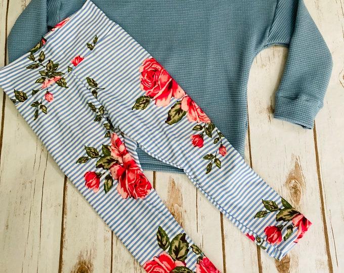 Dolman/Floral Set