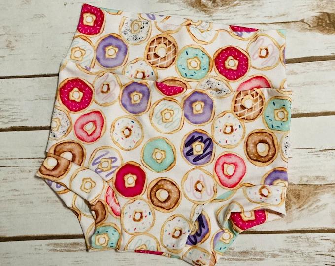 Donut Bummies/Infant Bummies/Infant Shorts/High Waisted Bummies/Baby Bummies/Donuts