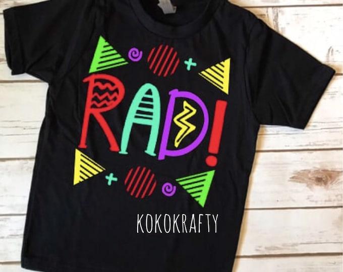 RAD Shirt/Kids Shirts/Fun Shirts/OOTD/Rad/Boys
