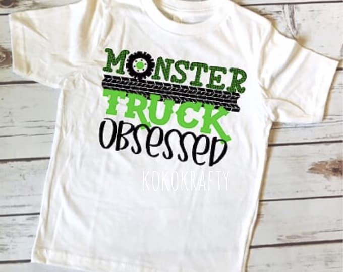 Monster Truck Shirt/Kids Shirts/Fun Shirts/OOTD/Boys/Monster Trucks