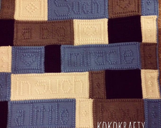 Miracle Blanket, Such a big miracle in such a little boy baby blanket, Baby blanket