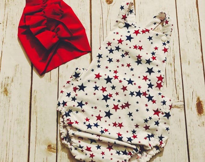 Summer Romper, Baby Romper, Summer Romper, Baby Fashion, Stars Outfit, Star Romper