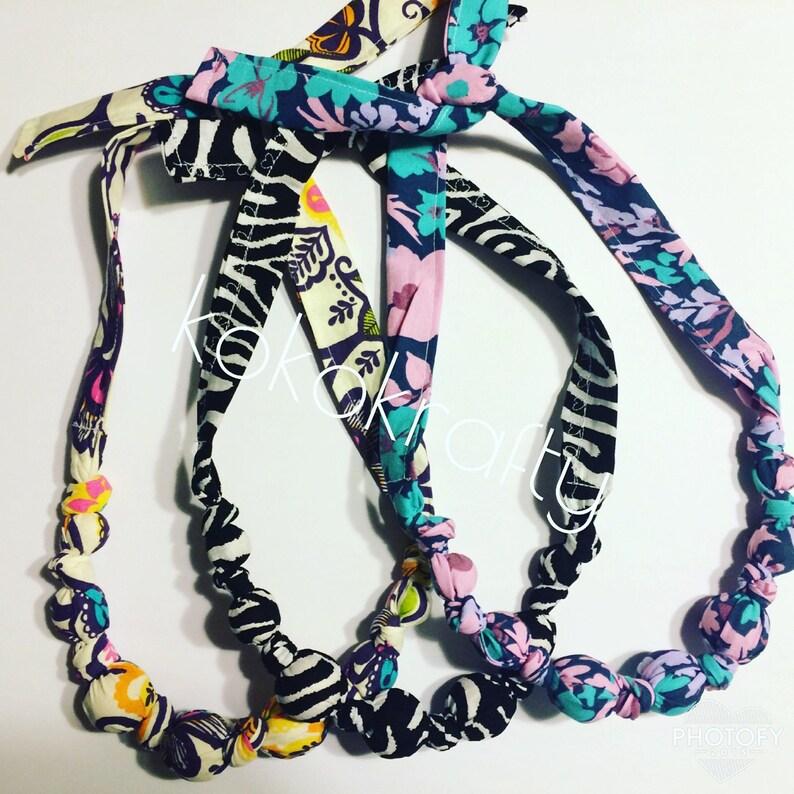 breastfeeding necklace nursing necklace teething necklace solid color special needs accessories NursingTeething Necklace