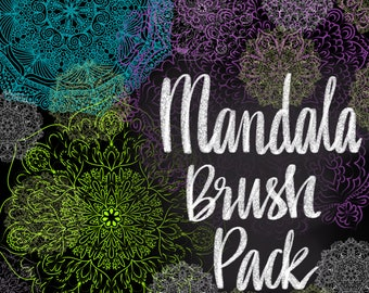 Mandala Brushes/Stamps/Stickers for Procreate