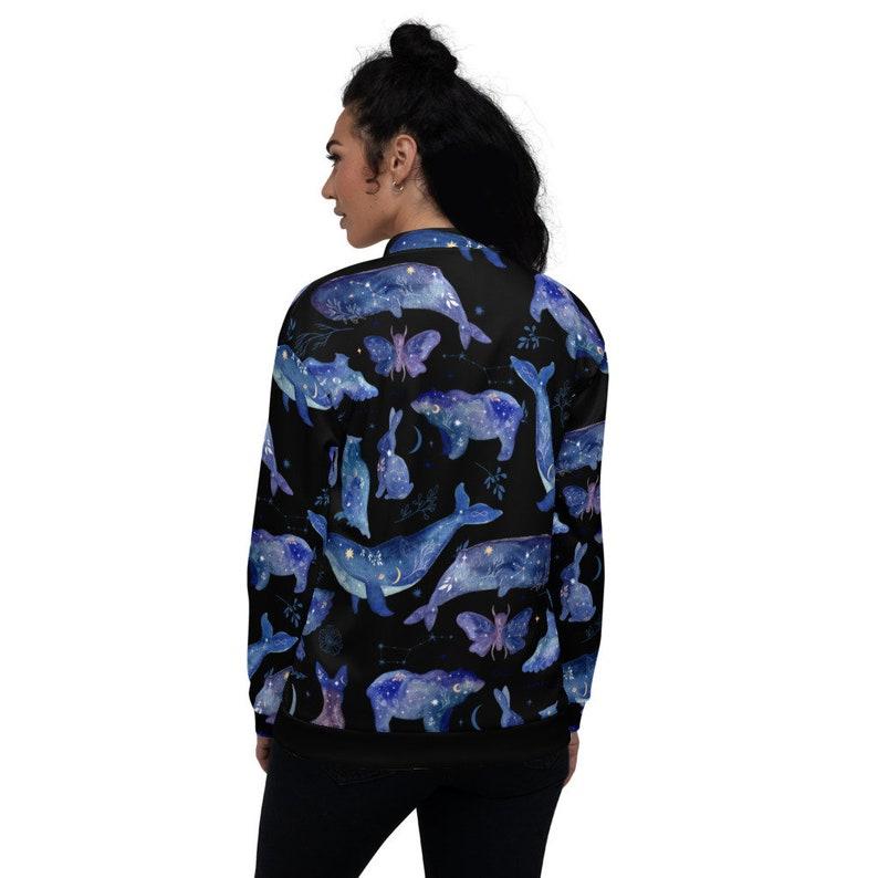 Unisex Bomber Jacket Mystic Animal