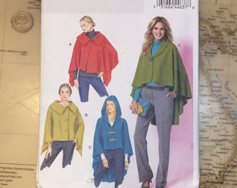 Vintage style Butterick 5819 Misses' Pattern, 1994, Cape /Wrap Women's outerwear Size Xsm Sm Med