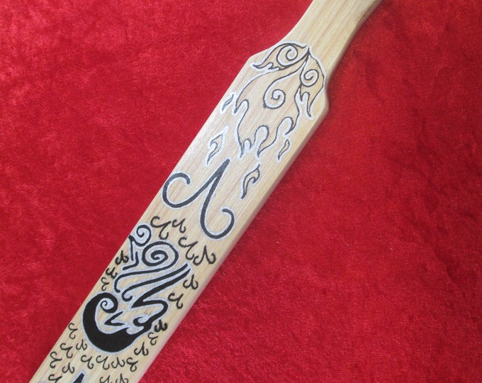 Aries Hand Painted and Hand Made Paddle! NEW!