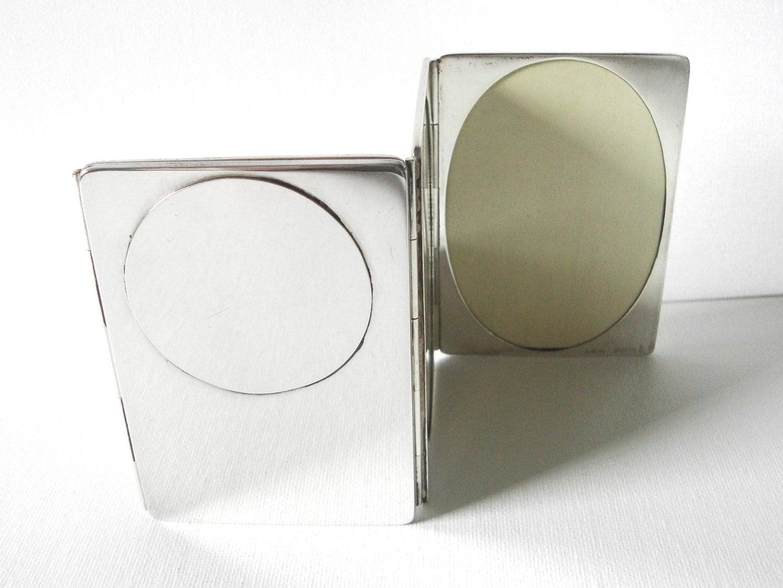 Für Cartier Sterling Silber hält Klapp-Rahmen vier Fotos von | Etsy