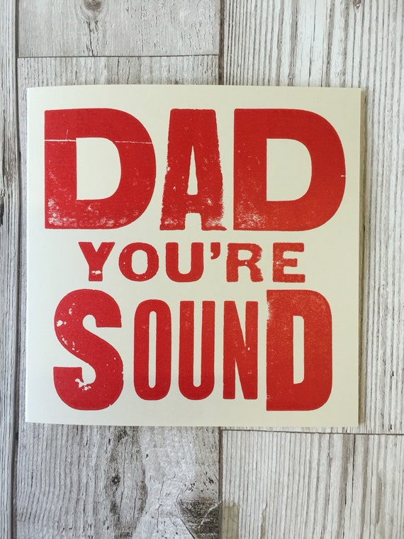 Dad Youre Sound Liverpool Card Scouse Card Birthday Etsy