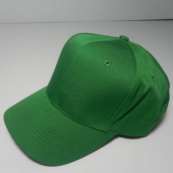 Vintage Kelly Green Snapback Baseball Cap Unisex Adjustable  f45219b6d3d