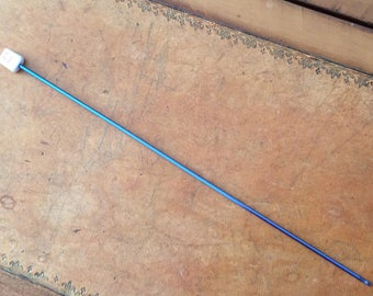 2.5 MM ALUMINIUM BLUE KNITTED CROCHET TUNISIAN CROCHET