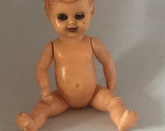 Little swimmer oskar celluloid doll doll