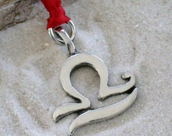 "Pewter Libra ""The Scales"" Zodiac Astrology Sun Sign of September October Christmas Ornament and Holiday Decoration (28C)"