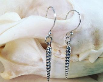 Unicorn horn earrings