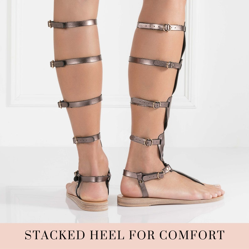 Gladiator leather sandals gold wedding sandals bridesmaids sandals black sandals greek sandals flat thong sandals