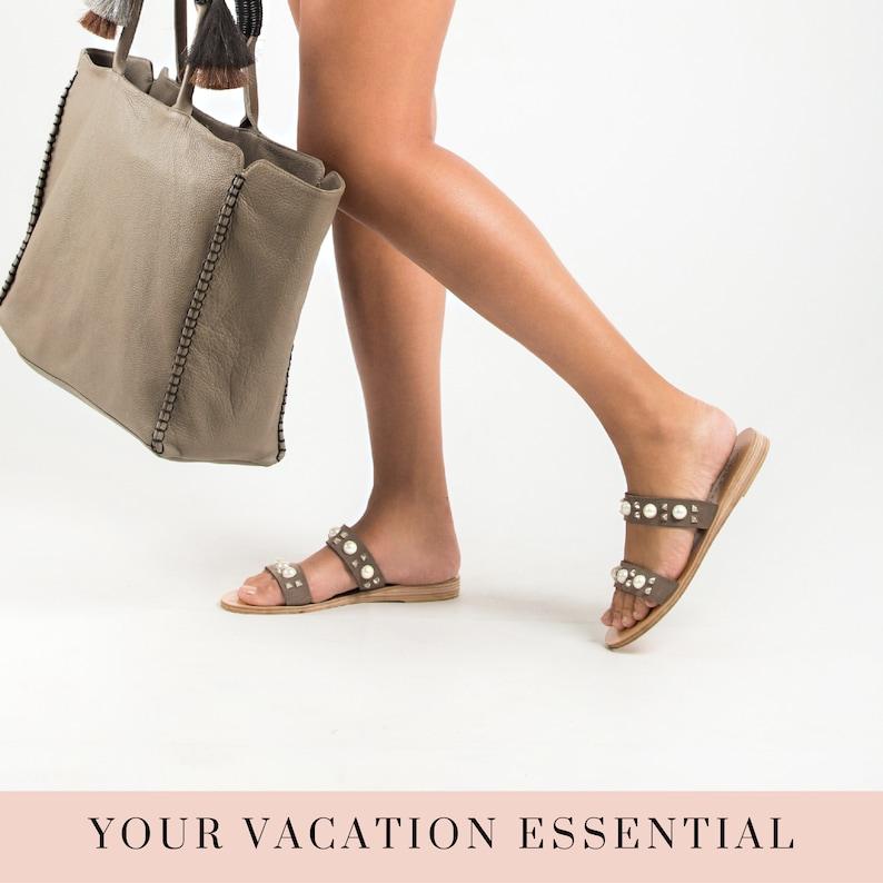 Greek leather sandals wedding sandals for women,boho strappy sandals