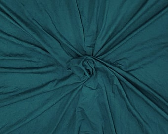 d9eae414e98 Modal Spandex Fabric Jersey Knit by Yard Dark Teal 4 Way Stretch