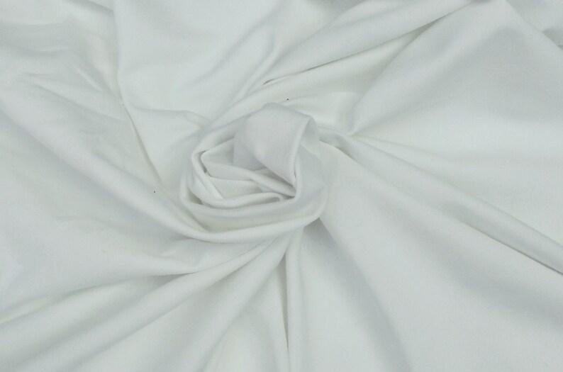 219cb7efbff Heavy Organic Cotton Spandex Jersey Knit Fabric By the Yard | Etsy