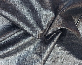 SOLD OUT 100% Woven Linen Fabric By the Yard 8.5oz European Made
