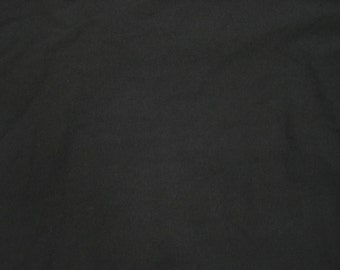 "Black Bamboo Spandex Jersey Knit Fabric by the Yard 61""W  7-15"