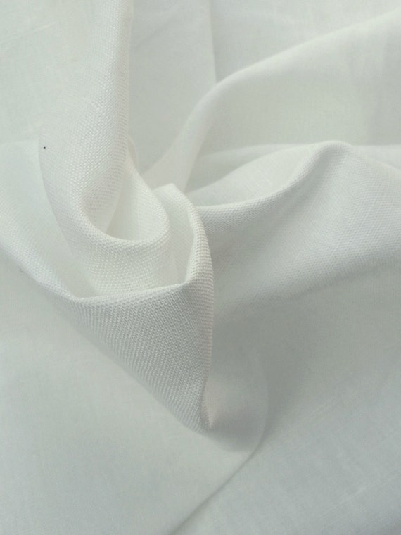Linen Fabric By the Yard PFD Undyed Fabric  439cb80b8