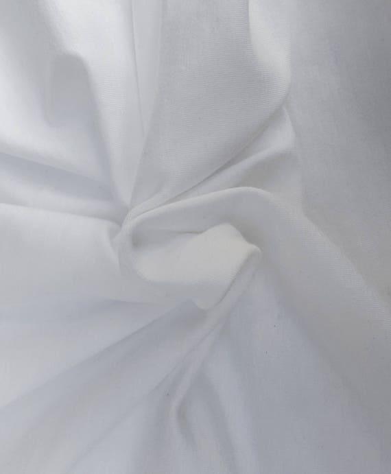 4a8a898e1e7 Fresh White Supima Cotton Modal Spandex 1x1 Rib Knit Fabric by | Etsy