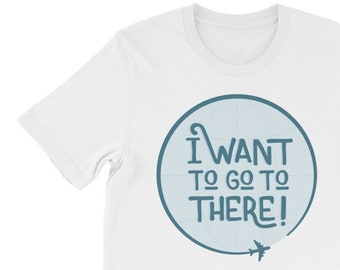 30 Rock Shirt - I want to go to there Liz Lemon Quote