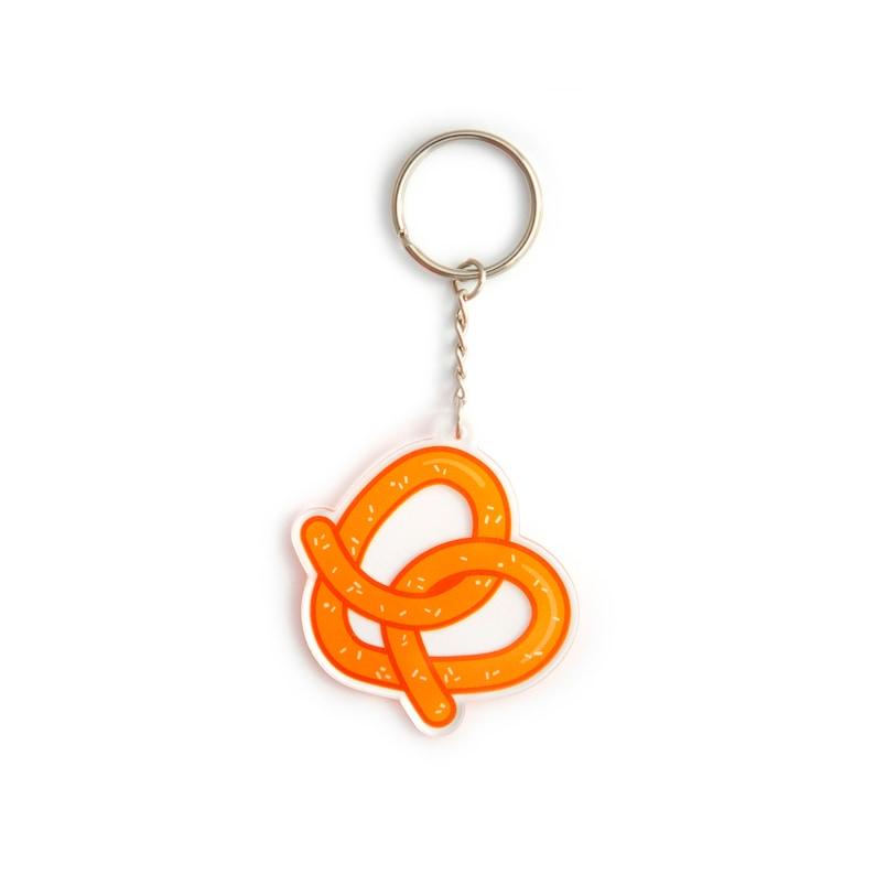 Crazy Ex-Girlfriend keychain  Pretzel heart image 0