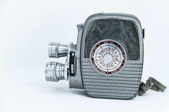 1957 Vintage Keystone 8mm Movie Camera K27 Capri