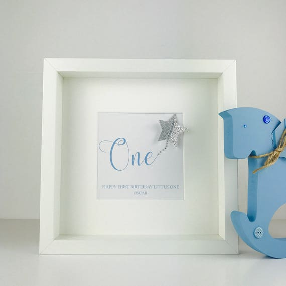 Personalised First Birthday Gift Babys 1st
