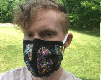 Fandom Print Fabric Mask  [Pattern Selection 2]
