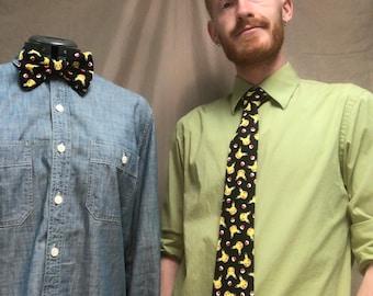Pokémon Pikachu Print Neck Tie/Bow Tie/Hair Bow
