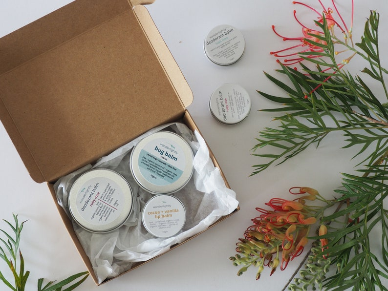 Natural recycled card Gift Box