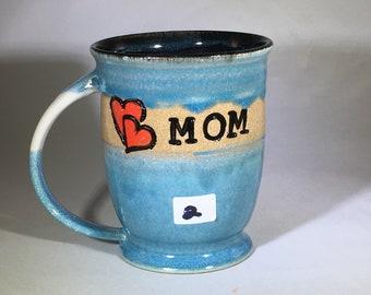 MOTHERS DAY MUG, pottery mug, ceramic mug