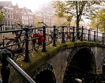 Amsterdam vélo, photographie néerlandaise, photo voyage, Falling Off Bicycles photo voyage