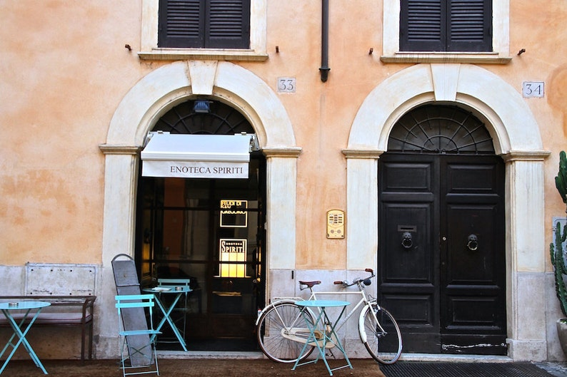 Rome Italy façade photo bicycle photo by Falling Off image 0
